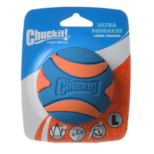 Chuckit Ultra Squeaker Ball Dog Toy (52068)