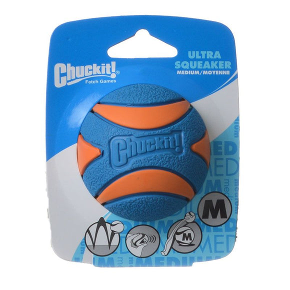 Chuckit Ultra Squeaker Ball Dog Toy (52069)
