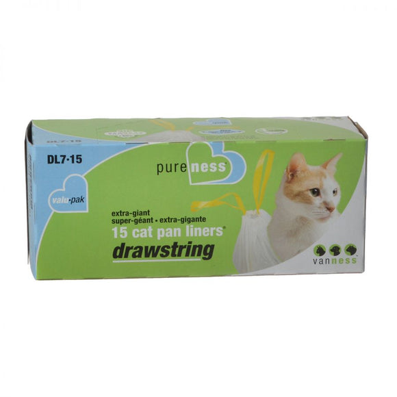 Van Ness Drawstring Cat Pan Liners (DL7-15)