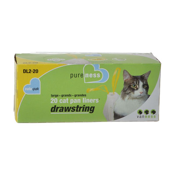 Van Ness Drawstring Cat Pan Liners (DL2-20)