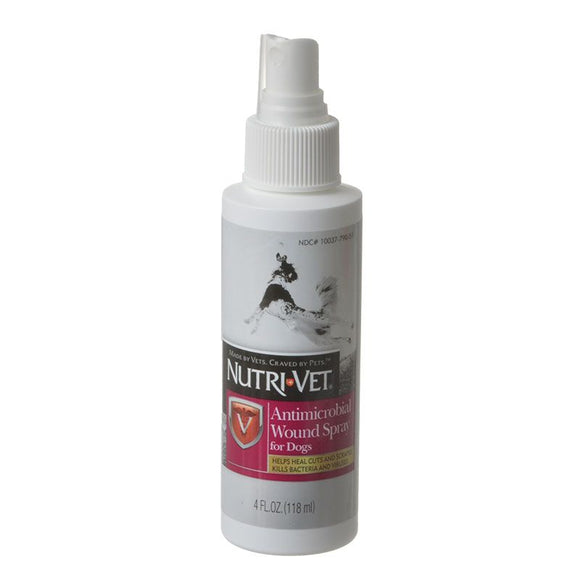 Nutri-Vet Antimicrobial Wound Spray for Dogs (99822)