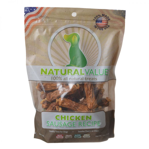 Loving Pets Natural Value Chicken Sausages (8070)