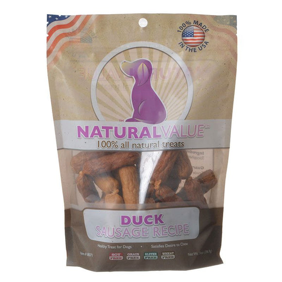 Loving Pets Natural Value Duck Sausages (8071)