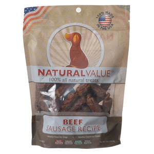 Loving Pets Natural Value Beef Sausages (8072)
