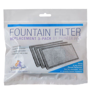 Pioneer Replacement Filters for Plastic Raindrop and Fung Shui Fountains (3003)