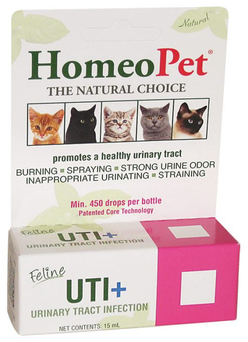 Homeopet Feline Uti+ Homeopathic Remedy 15 Ml