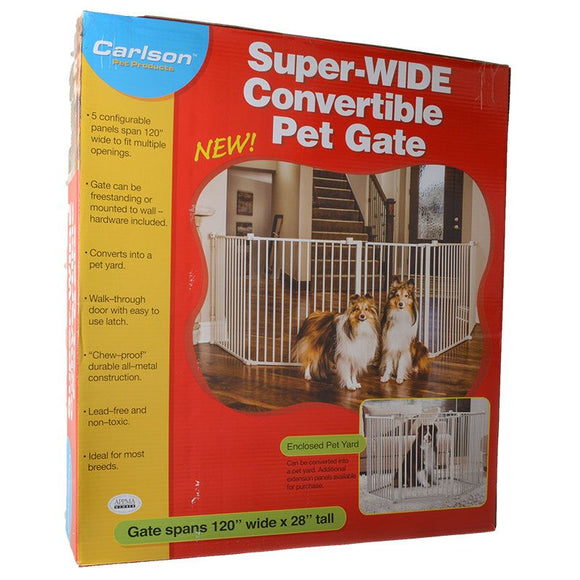 Carlson Super Wide Convertible Pet Gate (2450)