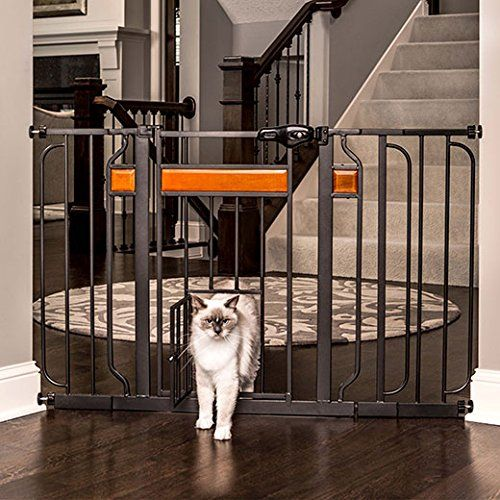 Carlson Design Studio Extra Wide Walk-Thru Pet Gate with Door (1130)