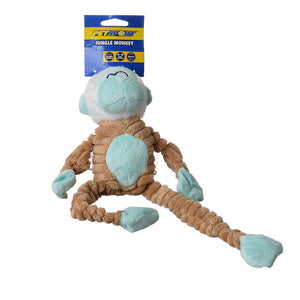 PetSport Tuff Squeak Jungle Monkey Toy (20530)