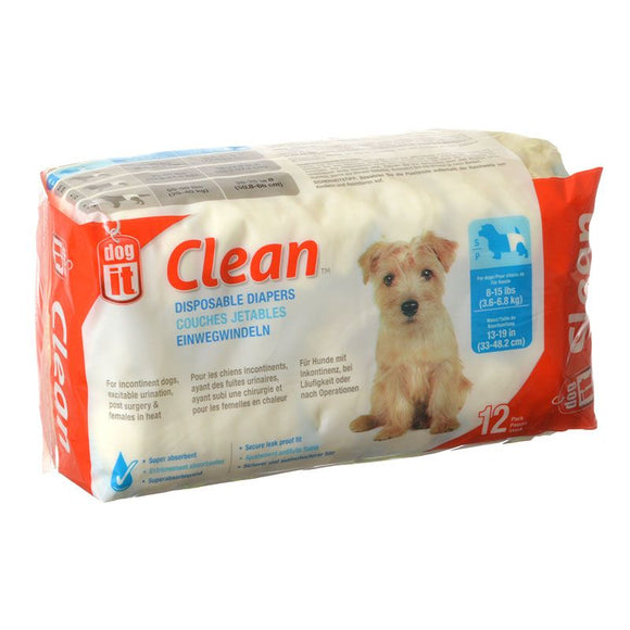 Dog It Clean Disposable Diapers (70501)