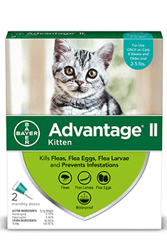 Advantage II Advantage II Flea Treatsment for Kitten 2 Dose