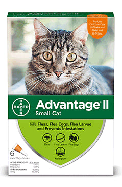 Advantage II Advantage II Flea Treatsment for Small Cat 6 Dose