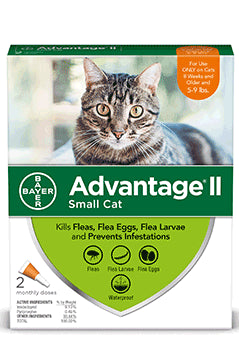 Advantage II Advantage II Flea Treatsment for Small Cat 2 Dose