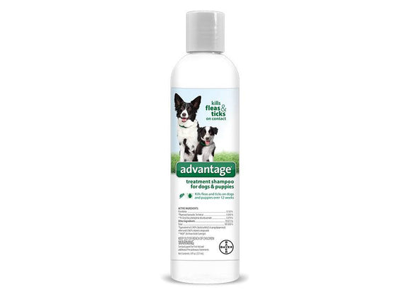 Advantage Advantage Treatsment Shampoo for Dog & Puppy 8 Oz