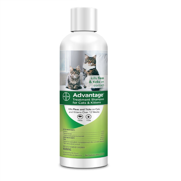 Advantage Advantage Treatsment Shampoo for Cat & Kitten 8 Oz