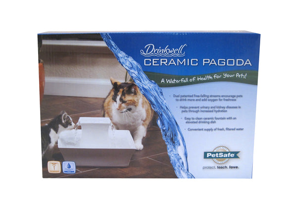PetSafe Drinkwell Pagoda Pet Fountain for Dog
