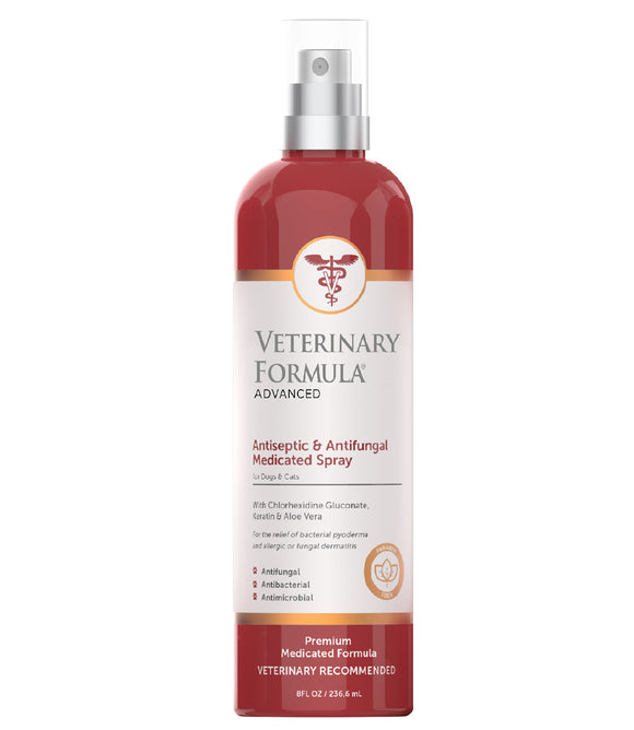 Synergy Labs Veterinary Formula Clinical Care Antiseptic & Antifungal Spray for Cat & Dog 8 Oz