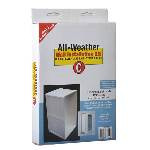 Perfect Pet All Weather Wall Installation Kit (AWWKXL)