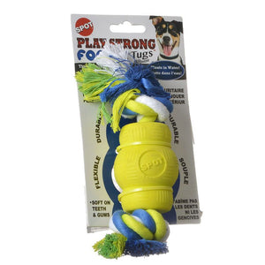 Spot Play Strong Foamz Dog Toy - Chew with Rope (54163)