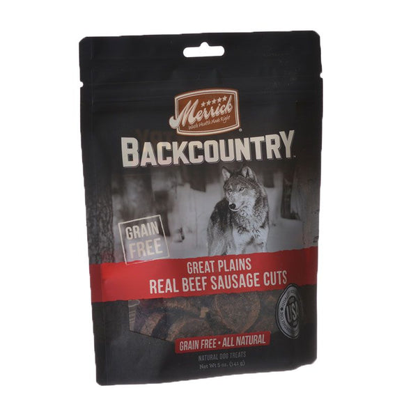 Merrick Backcountry Great Plains Real Beef Sausage Cuts (8786047)