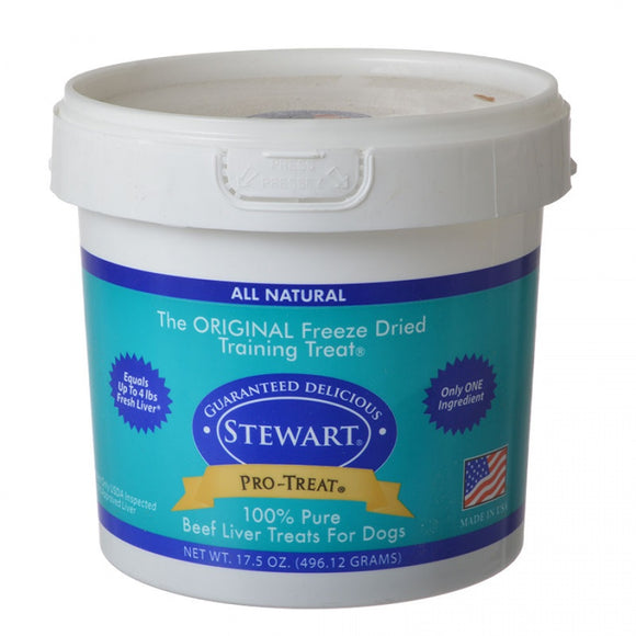 Stewart Pro-Treat 100% Pure Beef Liver for Dogs (401417)