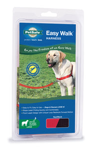PetSafe Easy Walk No Pull Dog Harness Red Color Large