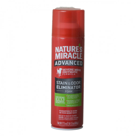 Nature's Miracle Advanced Enzymatic Stain & Odor Eliminator Foam (P-96946)