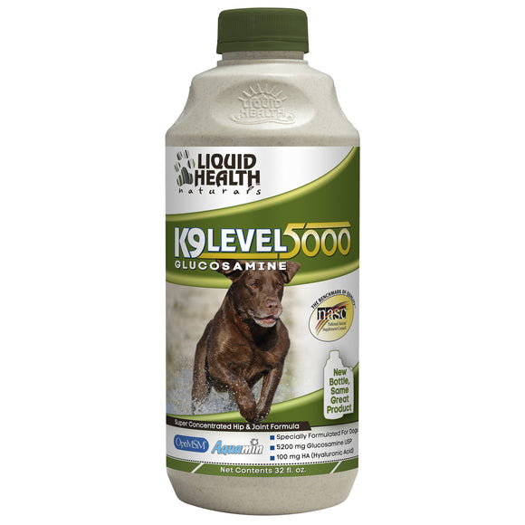 Liquid Health K9 Level 5000 Concentrated Glucosamine for Dog 8 Oz
