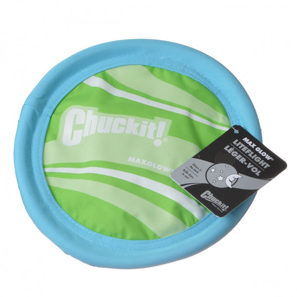 Chuckit MaxGlow Liteflight Dog Disc (31973)