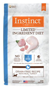 Instinct Limited Ingredient Diet Grain Free Recipe with Real Turkey Dog Food 5 Lbs