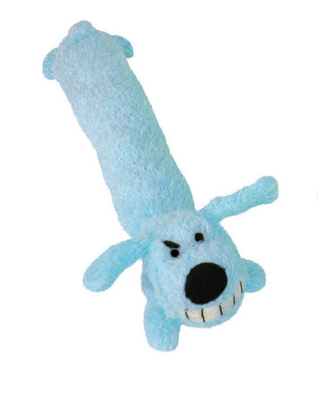 Multipet Loofa Dog Toys Medium Assorted Color 12 Inch