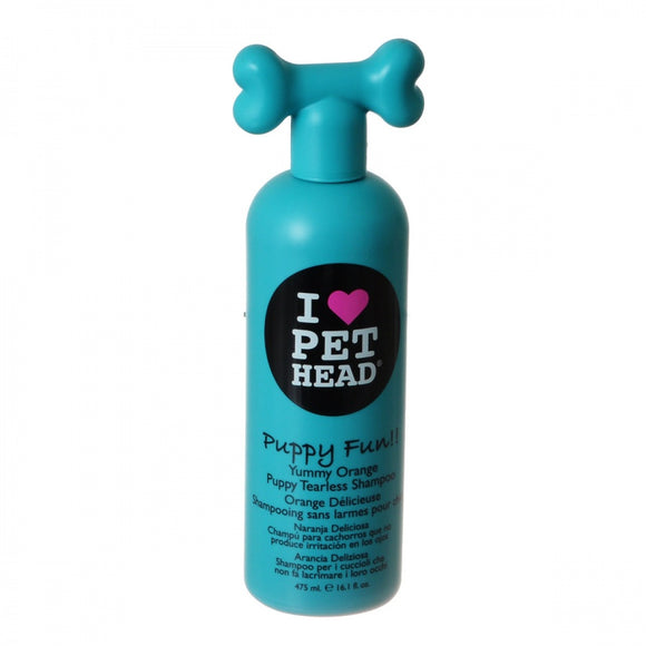 Pet Head Puppy Fun Puppy Tearless Shampoo - Yummy Orange (TPHF1)