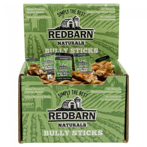 Redbarn Mini Braided Bully Stick Chewy Dog Treat