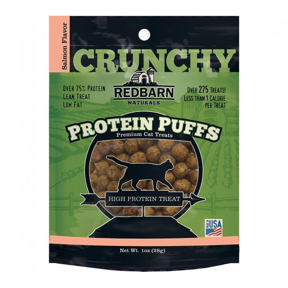 Redbarn Salmon Protein Puffs High Protien Cat Treat