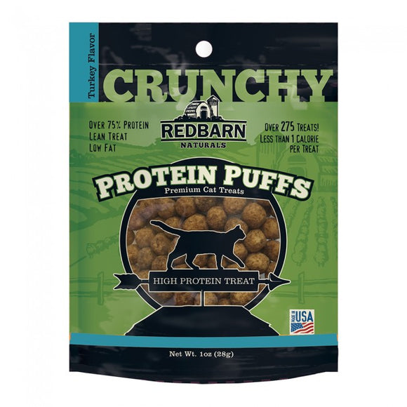 Redbarn Turkey Protein Puffs High Protien Cat Treat