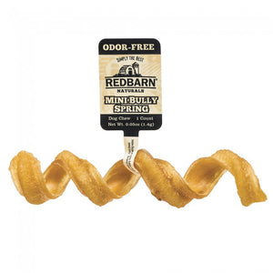 Redbarn Odor-Free Mini Bully Springs Chewy Dog Treat