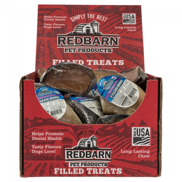 Redbarn Peanut Butter Filled Hooves Chewy Dog Treat 4 Inch