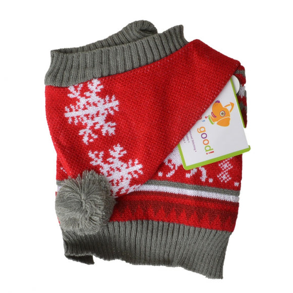Lookin Good Holiday Dog Sweater - Red (104023)