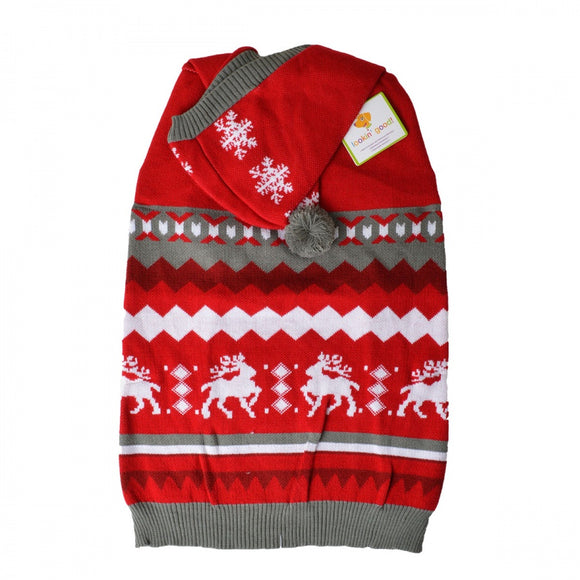 Lookin Good Holiday Dog Sweater - Red (104027)