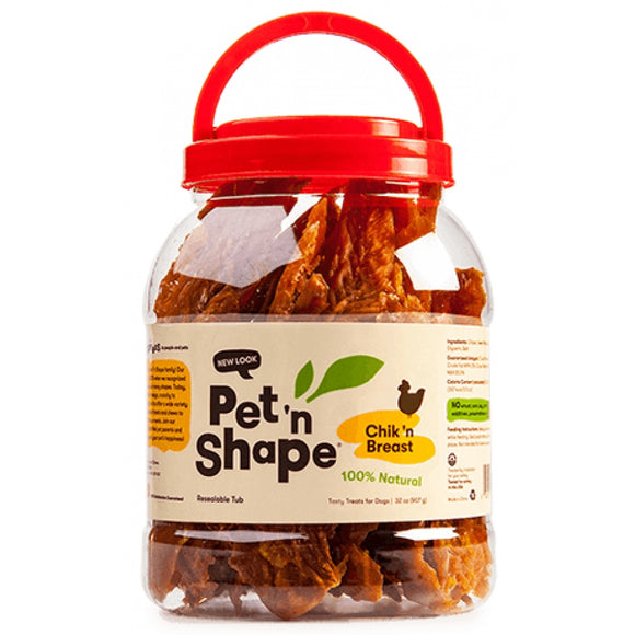 Pet 'n Shape Chik 'n Breast Dog Treats (10132)