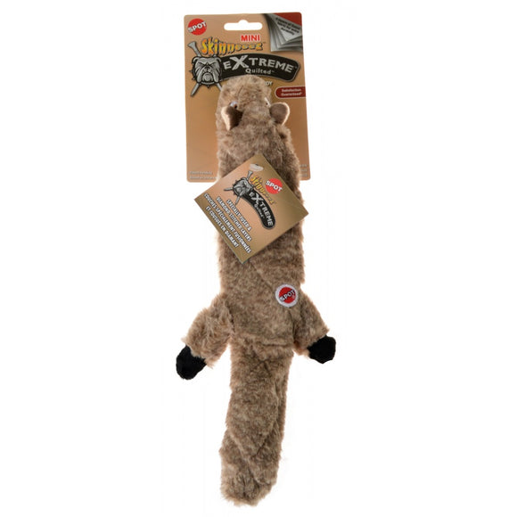 Spot Skinneeez Extreme Quilted Squirrel Toy - Mini (54220)