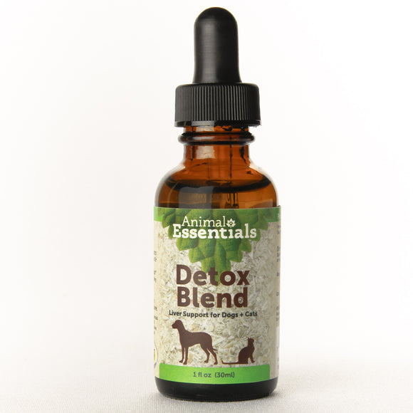 Animal Essentials Detox Blend Liver Support for Cat & Dog 1 Oz