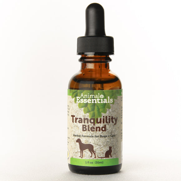 Animal Essentials Tranquility Blend Herbal Formula for Cat & Dog 1 Oz