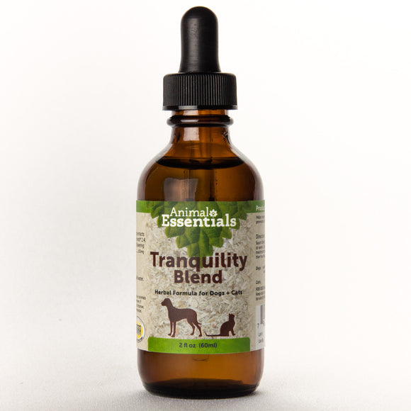 Animal Essentials Tranquility Blend Herbal Formula for Cat & Dog 2 Oz
