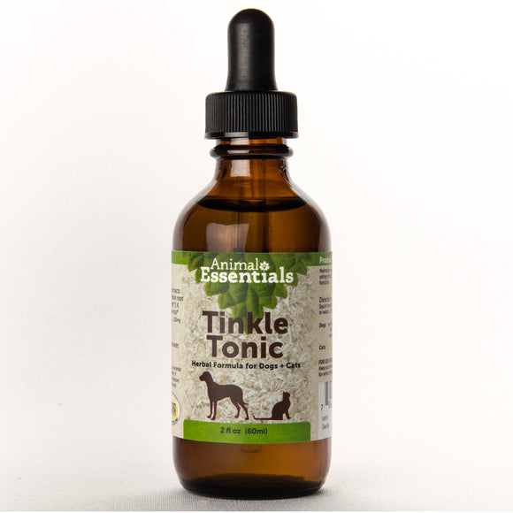 Animal Essentials Tinkle Tonic Herbal Formula for Cat & Dog 2 Oz