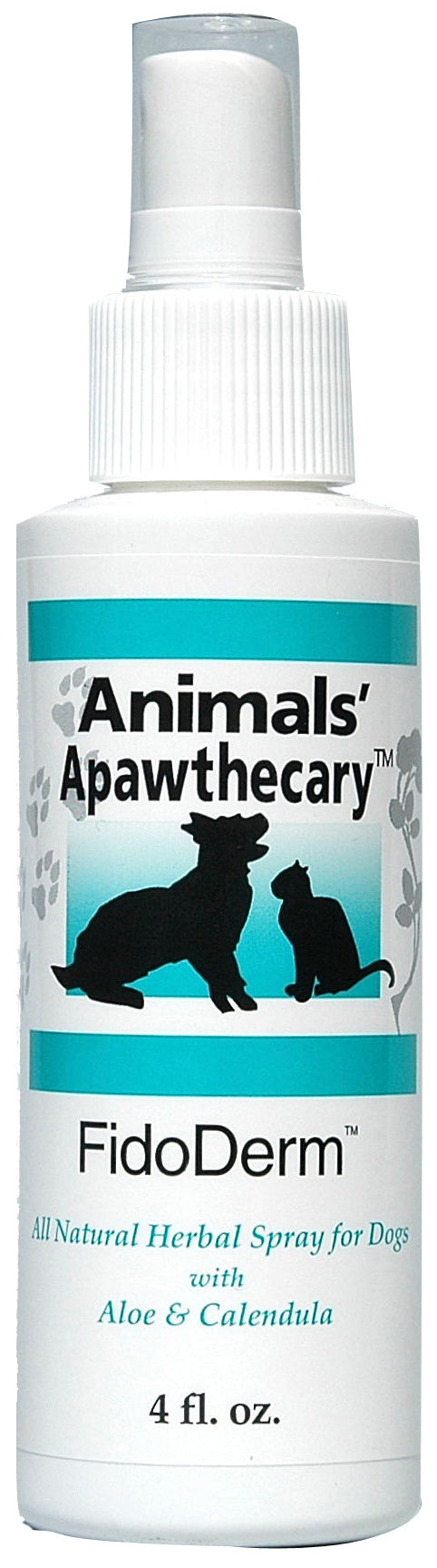 Animal Essentials FidoDerm Skin Spray for Dog & Horse 4 Oz