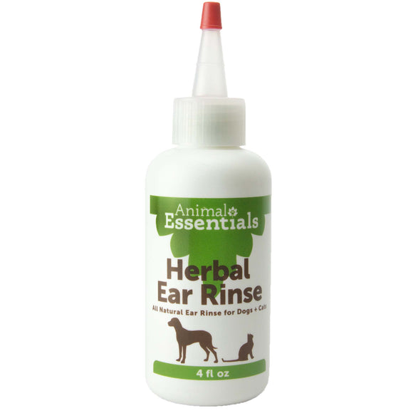 Animal Essentials Herbal Ear Rinse for Cat & Dog 4 Oz