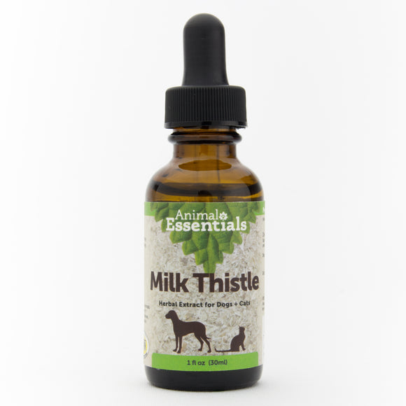 Animal Essentials Milk Thistle Herbal Extract for Cat & Dog 1 Oz