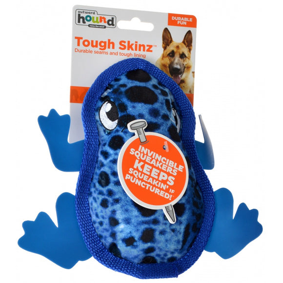 Outward Hound Tough Skinz Frog Dog Toy (67823)
