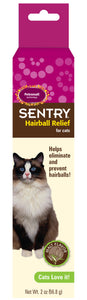 Sentry Malt Flavor Hairball Relief for Cat 2 Oz